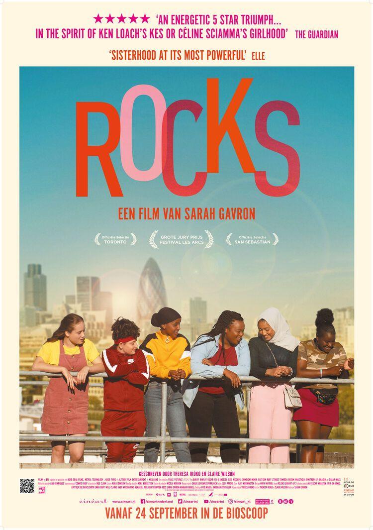 """6. Rocks. Recensie: https://t.co/zEURXoVarp """"bruisende film over de veerkracht, het plezier en de levenskracht van tienermeiden"""" #Rocks https://t.co/ImEryDvVLv"""