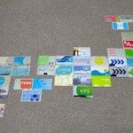 旅行先で集めた交通系ICカードが、集めすぎてICカード列島が作れるまでになっていた!