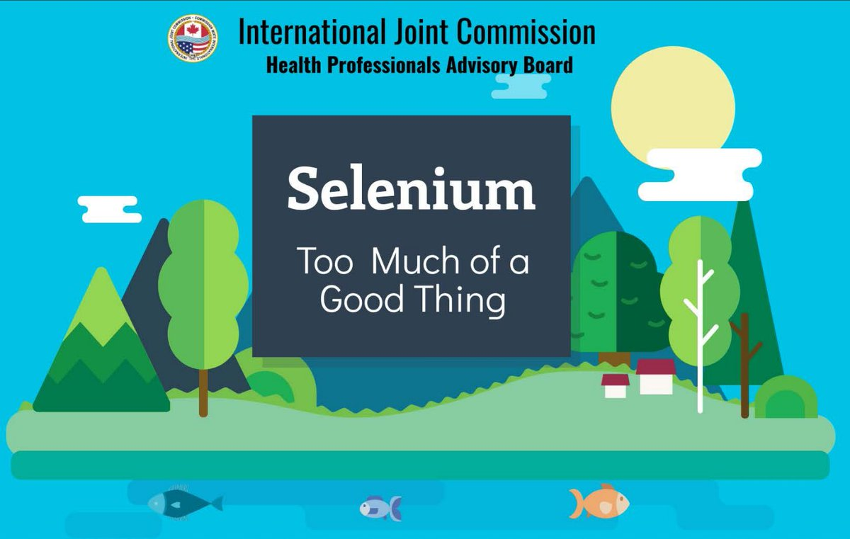 Frequently Consuming Fish from Waterways with High Levels of Selenium Poses Risks to Human Health: A new report by the IJC's Health Professionals Advisory Board https://t.co/pfFZcCDf00 https://t.co/BBZI7TlWgj