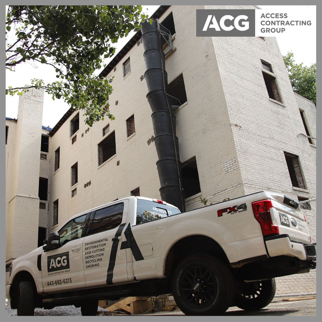 💪 #ACG #Access #Demolition #AccessDemolition #Shoring #Safety #Recycling #SawCutting #Truck #PickUp #TrashChute https://t.co/XodWp4ZasB