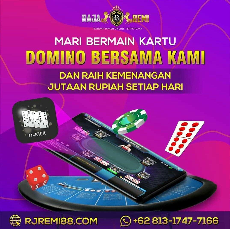 Rajaremi situs poker terpercaya.  -Minimal deposit 10.00  -Bonus new member 60.000  Website : https://t.co/Oo4jXeRF0q  #poker88 #pokerv #rajaremi #dewapoker #nagapoker #pokerace99 #agenpokerterpercaya #pokeronline  #ceme #bandarpokeronline #PuraPuraBahagia https://t.co/s2lNxsa0XX https://t.co/HMVFZ7OzA4