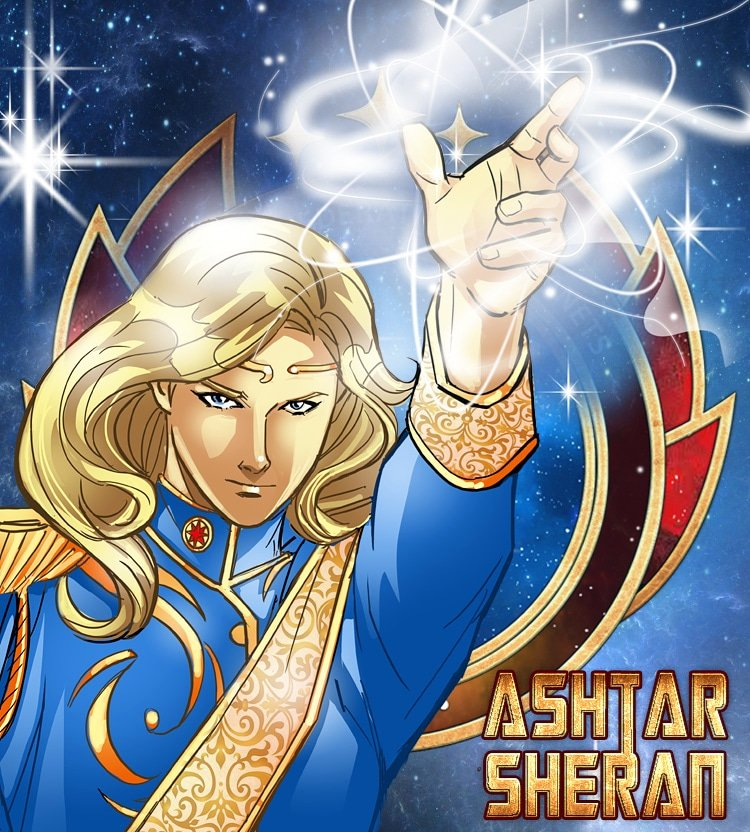 Ashtar Sheran, Comnander of the Galactic Federation of Light from the upcoming SKY GODZ graphic novel ASHTAR: Return to Venus. #ashtar #anime #sciencefiction #comicbooks #manga #aliens #ufos #scifi #animation #extraterrestrials #ancientaliens #lightworker #lightbeing  #animation https://t.co/DAtAKIurE0