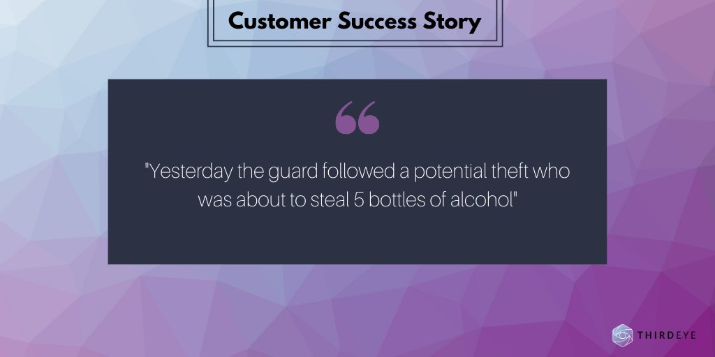 Yet another theft caught by ThirdEye  🎊  #SuccessStory #LossPrevention https://t.co/b2x6lxfbHt