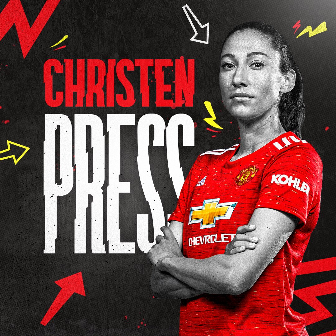 Replying to @ManUtdWomen: Lights 💡 Camera 🎥 Action 🎬  It's time for a peek at @ChristenPress's first #MUWomen interview! ✨