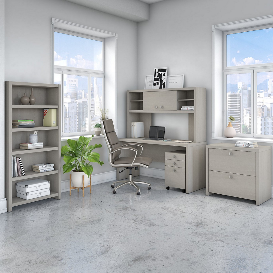 Complete your #office with this bundle. With a #desk, #hutch, #bookcase, 2 drawer lateral #filecabinet, and a 3 drawer #mobilefilecabinet, this bundle provides tons options. #Sustainable #EcoFriendly. Ships Free! #officefurniture #homeoffice #kathyireland  https://t.co/X0zwe4uNvS https://t.co/Nyy05CKWHh