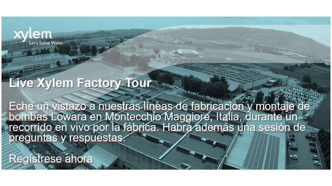 🎯Ya queda menos. Mañana a las 9:30 abrimos las puertas de la fábrica #Lowara. Te lo vas a perder? https://t.co/iWcnAsYuvZ https://t.co/1CRzYGVFtV