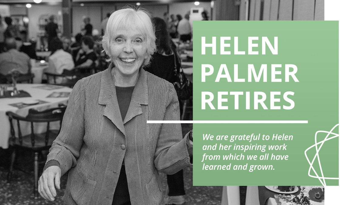 "Helen Palmer announced her retirement from teaching during the Menlo Park Learning Community in August 2020. Her new title will be ""Founder and Core Faculty Emeritus."" Read more: https://t.co/6mfj8RjWoA  #helenpalmer #enneaworld #thenarrativeenneagram #enneagram https://t.co/kijc4M33BF"