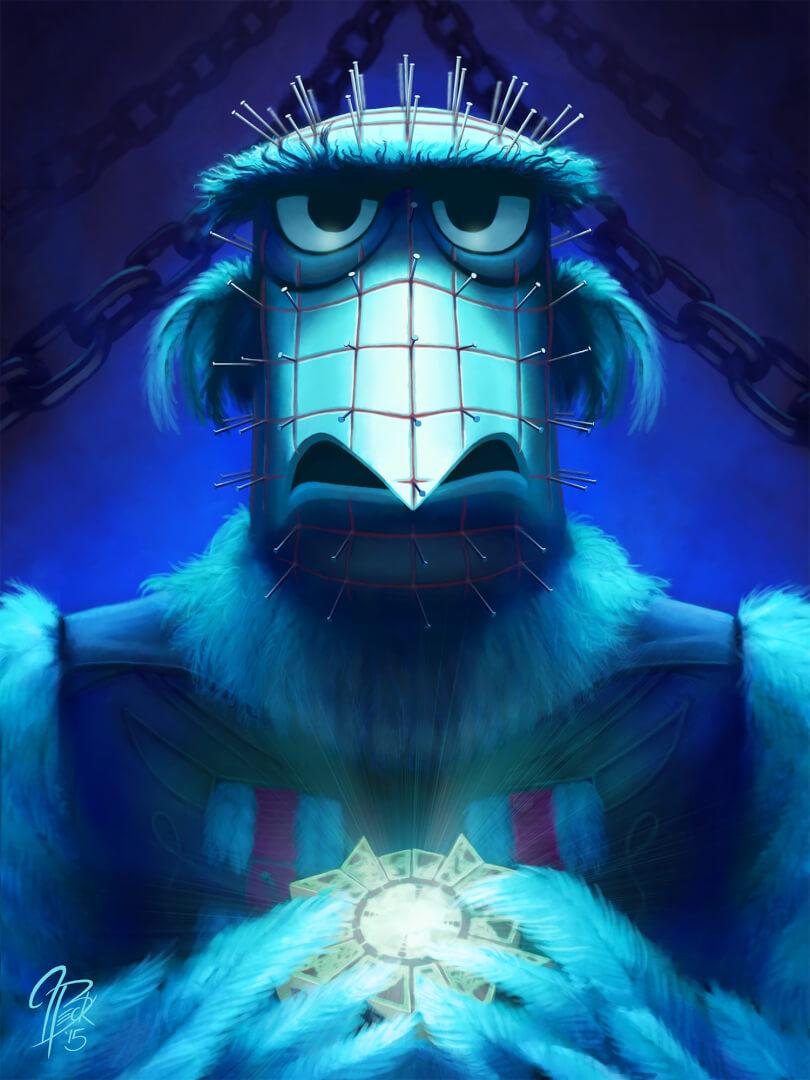 #MuppetAMovie Hellraiser: Demon to some. Eagle to others. #Horror https://t.co/IJCFeG3Wu8