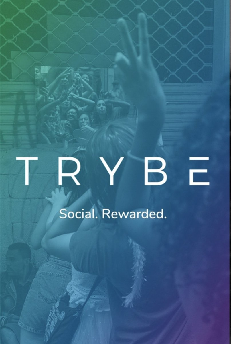 New social platform Trybe has launched. No more giving away your creativity and time to social media giants. The new way-Social. Be yourself, be with your people, get rewards. See you on there