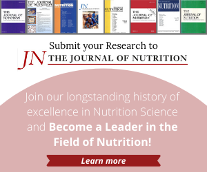 Calling all nutrition researchers! Are you seeking a home for your research? Submit to #JNutr and join our history of excellence in Nutrition Science. @jnutritionorg https://t.co/CxqPTRFeCt https://t.co/iq8E1WCTe2