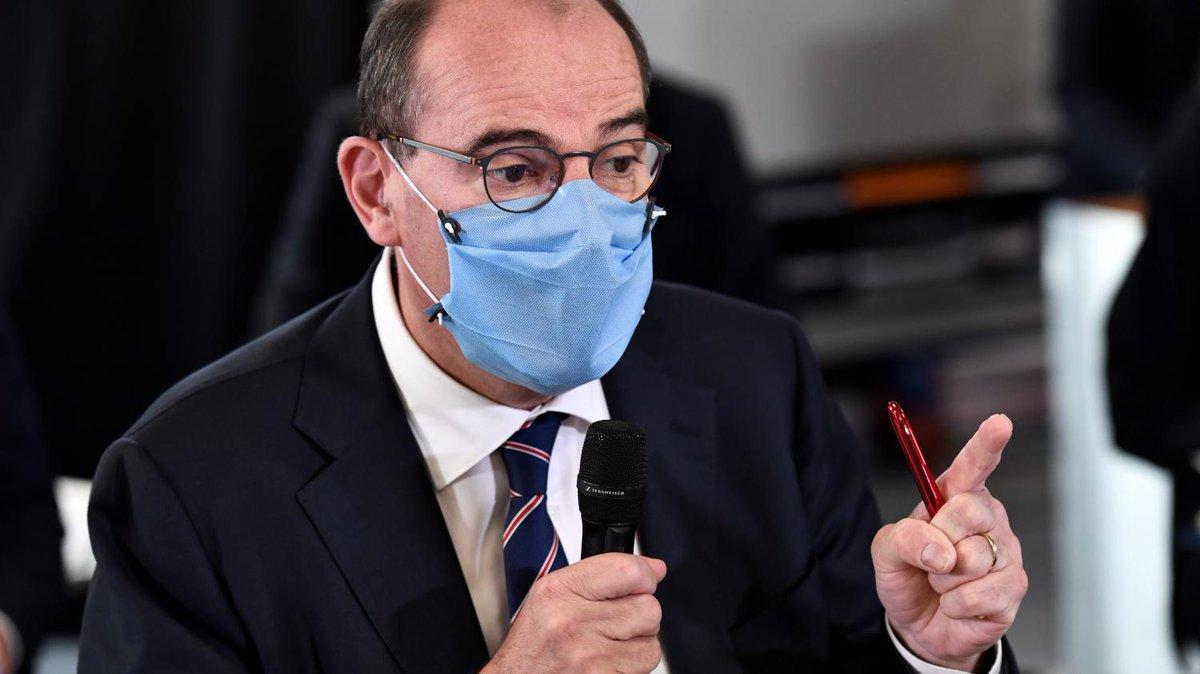 """DIRECT 🔴 Covid-19: au lendemain d'un durcissement des mesures sanitaires, regardez l'interview de Jean Castex dans """"Vous avez la parole""""  https://t.co/8MjYAUoUIz https://t.co/nwdEoRMzJL"""