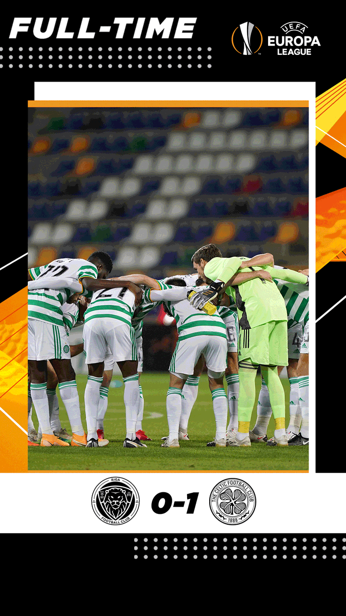 Mohamed Elyounoussi's late strike in Latvia sends the Bhoys through to the @EuropaLeague play-off 🍀🟢  #UEL #RIGCEL https://t.co/6ke6cYwEeF