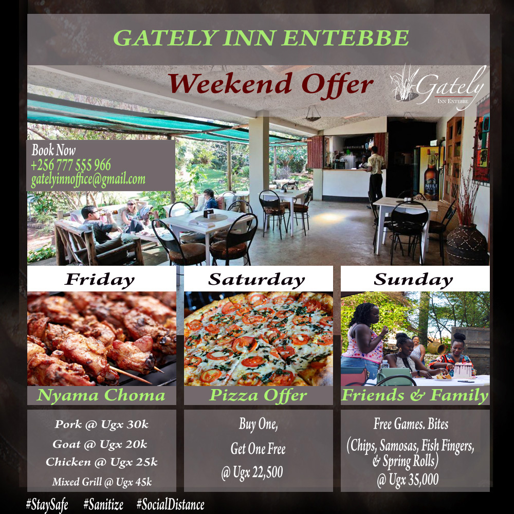 #weekendvibes #weekendgetaway #week #travelblogger #weekendmood #weekendfun #weekendbreak #travel#bookings #lakevictoria #Staycation #nearlytheweekend #nearlyweekend #nearly #nearcation Gately Inn Entebbe We have our customers desires and needs at heart. We listen and act. https://t.co/rMqcLdQqX4