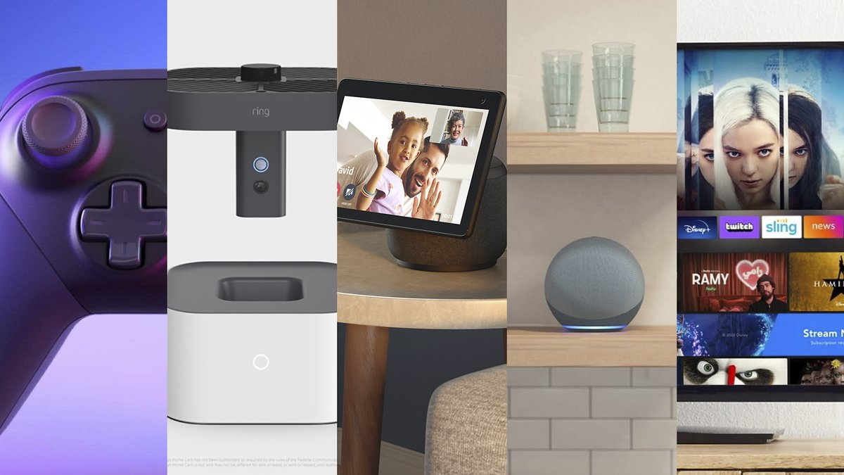 Here's all the weird shit Amazon announced today, including a drone for your house