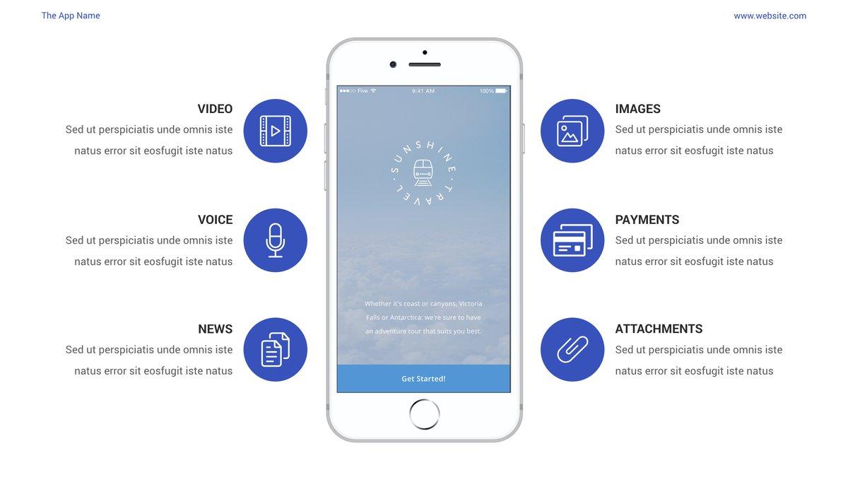 Mobile App Showcase Keynote Pitch Deck https://t.co/2jxNjSEq0P  #DigitalMarketing #BigData #startup #digitalart #contentmarketing #Marketing #SEO #DataScience #AI #5G #SocialDistancing #Content #contentmarketing #social #flutterdev #iOS14 #AndroidDev #MobileApp #AppleEvent #Apple https://t.co/bQIsSS0brs