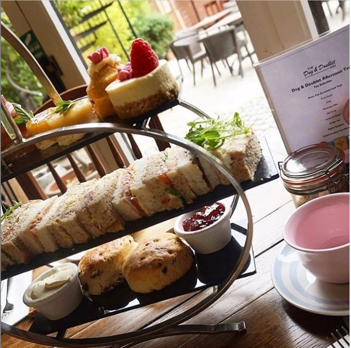 The perfect way to spend an afternoon!  We serve afternoon tea every Friday & Saturday between 3pm and 4pm. Enjoy a selection of sandwiches, homemade cake, scones & a choice of Brew Tea Co. loose leaf tea 🍰  For more info and to book 👉 https://t.co/eFJy3FJXLK  #stafford #wdyt https://t.co/GkwPvaQtDL
