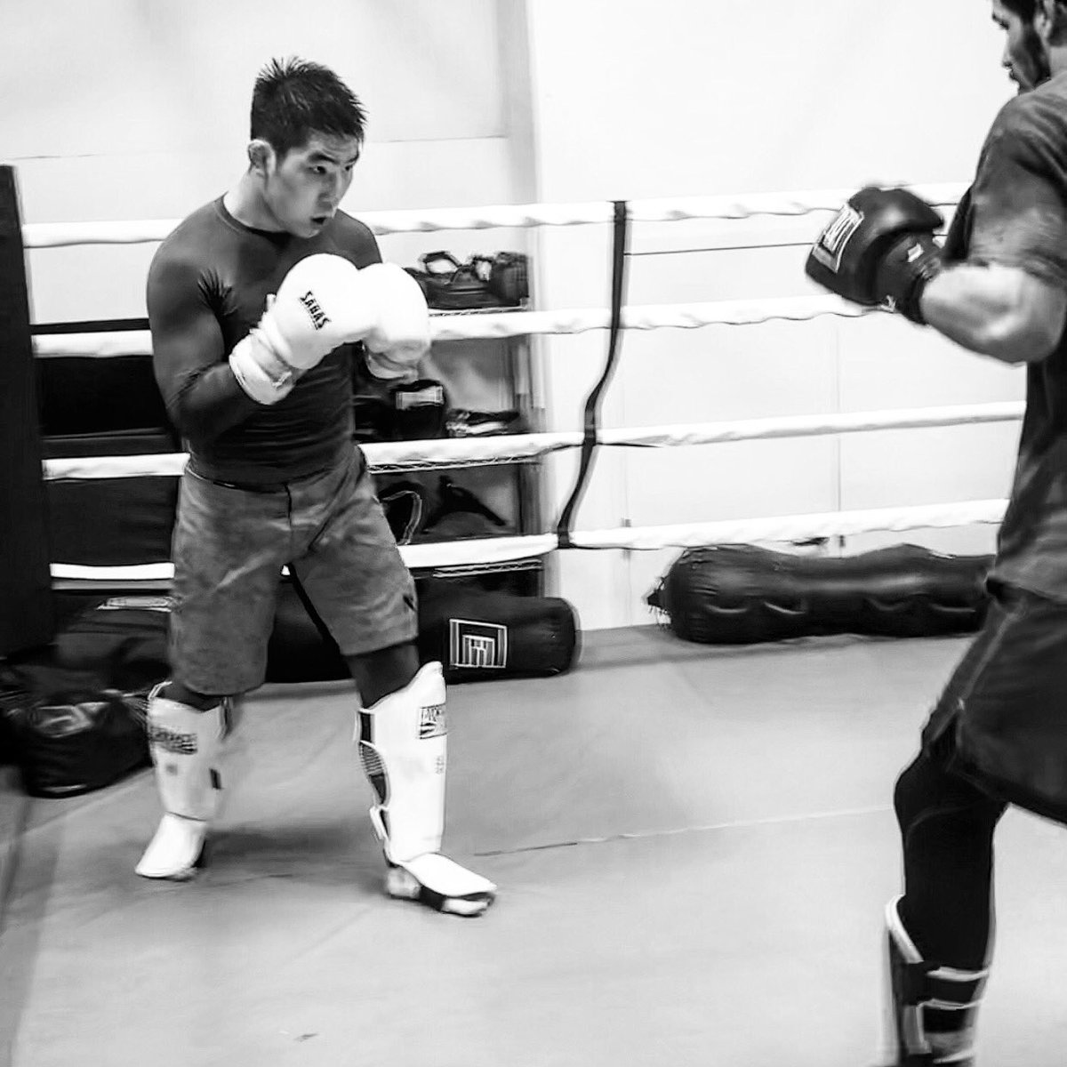 """""""The Most Dangerous Person is the one who listens, thinks, and observes."""" -Bruce Lee  👊😈💯  #sparring #fightteam #boxing #muaythai #bjj #kickboxing #mixedmartialarts #mma #mmafighter #fitness #motivation #lifestyle #fight #fighting #한국 #격투기 #파이팅 https://t.co/BYbjTi8969"""
