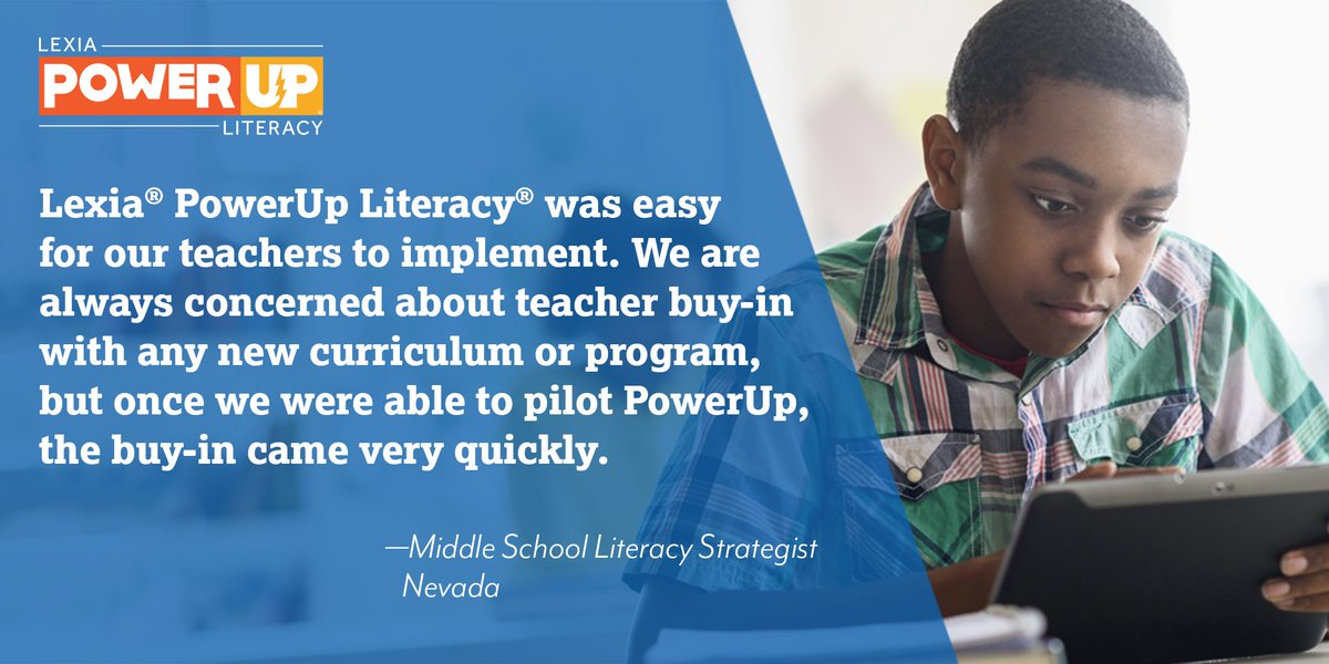 Check out this week's #LexiaLearning #SuccessStory! Know an #educator with a Lexia success story to share? Tag them below or send us a message! For more success stories visit: https://t.co/iNREiKocWZ https://t.co/aRBjmKvQwJ