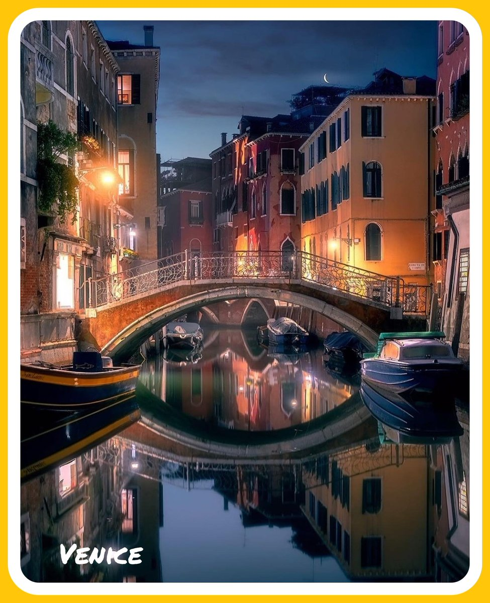 Venice at night. Beautiful 😍  #venice #italy #veniceitaly #beautifulcity #wonderfulplaces #traveling #traveltuesday #letsgoeverywhere #tourism #adventure #airport #travelpics #tourismchat #tl_chat #ttot #wanderlust #paradise #resort #travelgram #TravelAddict #TravelLife https://t.co/uE7gTp6Ssa