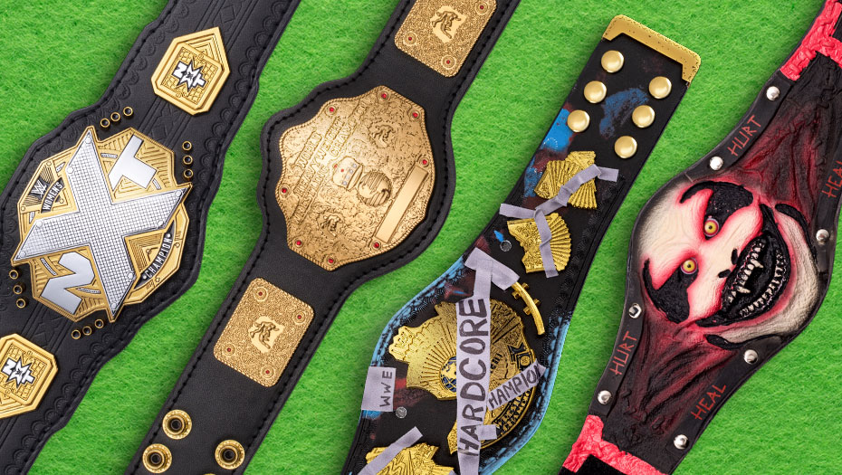 Enjoy these Official Mini Replica Titles! Modeled after the Championships held by your favorite Superstars, these 12-inch replicas are the perfect accent in any room and are a great addition to every fan's collection. Get yours today at #WWEShop! #WWE  https://t.co/rn82lUr8L7 https://t.co/BLy59I0Sys