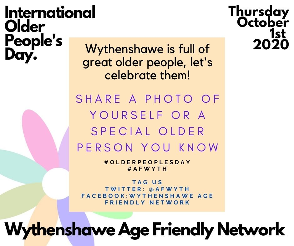 A great way to celebrate Older Peoples Day on the 1st of October. Lets see pictures of yourself or a special older person you know to celebrate them and the great things they do and have done!!! #olderpeoplesday #afwyth