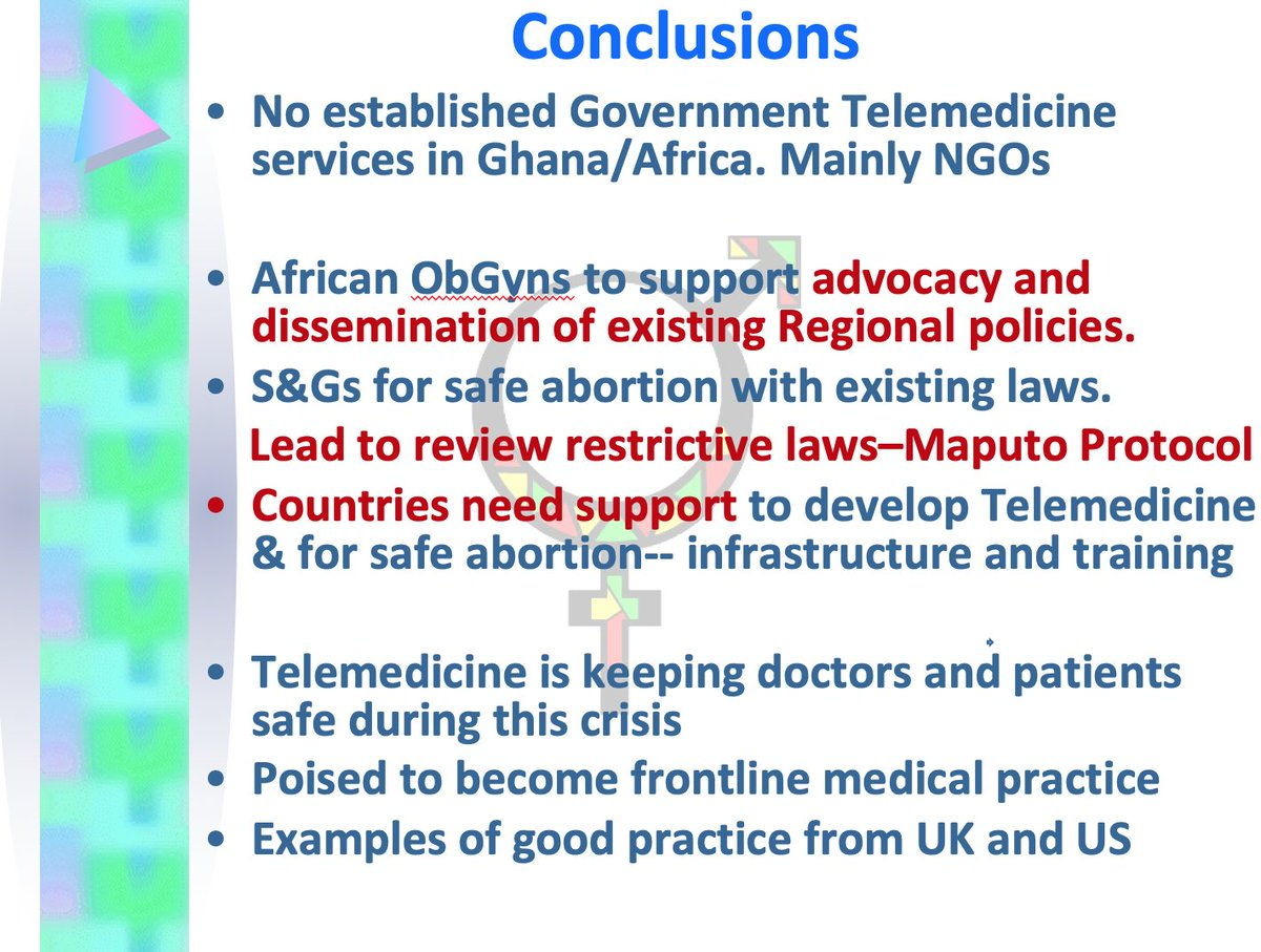 So what should be done? Ambassador Dr. Brookman-Amissah notes the need for African #ObGyns to support advocacy. She also stresses that countries need to provide infrastructure & training for countries around self managed #abortion.  #IManageMyAbortion #FIGOWebinar https://t.co/wASa7VQMGP
