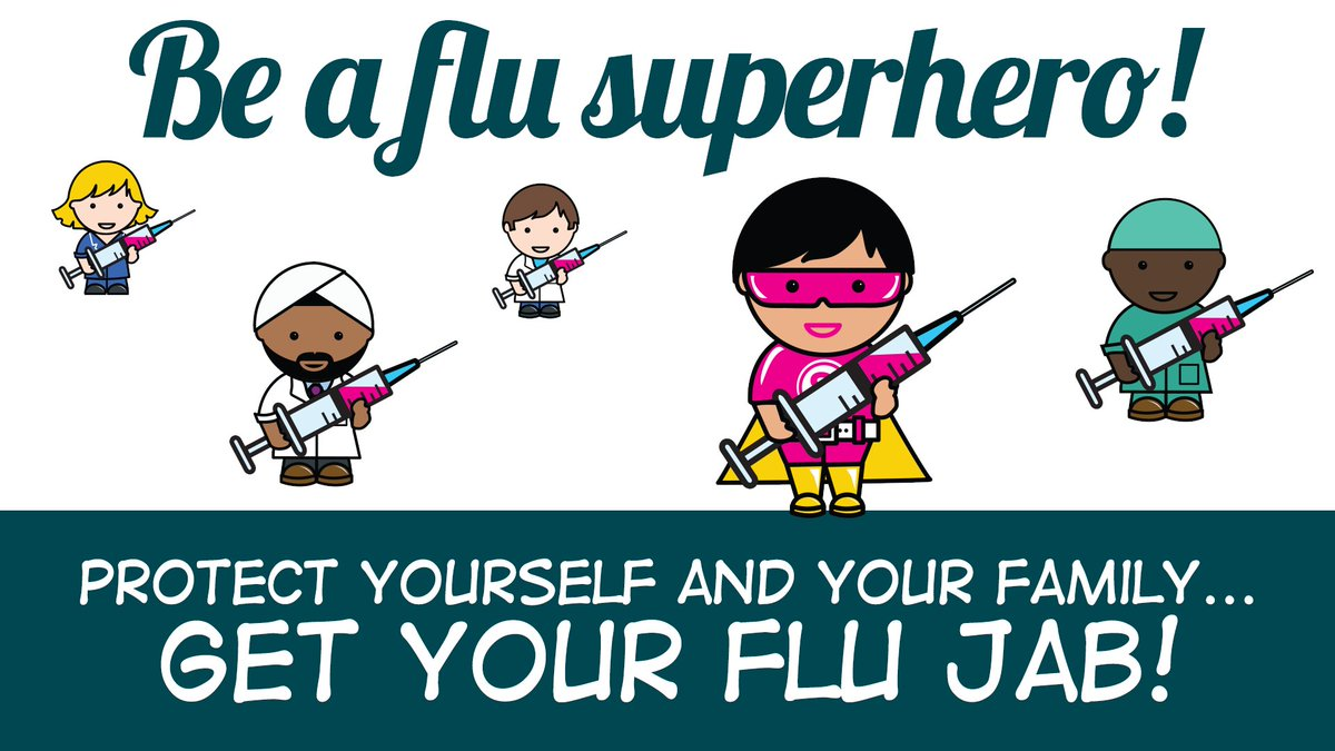 We've been busy all week receiving the flu jab to keep ourselves, patients and co-workers safe.   Tomorrow is our last drop in session for Chelsea Hospital staff to get the vaccination.   Visit the Academic Atrium, Lower Ground Floor, between 7am and 12pm.   #GotMyJab https://t.co/wDMbzKQOsi