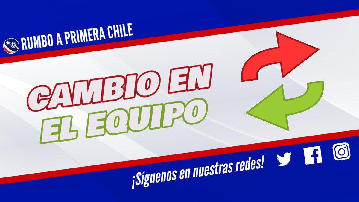 #PrimeraDivisión | 45' Cambio en Deportes Iquique   Ingresa Jesus Hernández  Abandona Cesar Huanca https://t.co/o6qvYXq1ng
