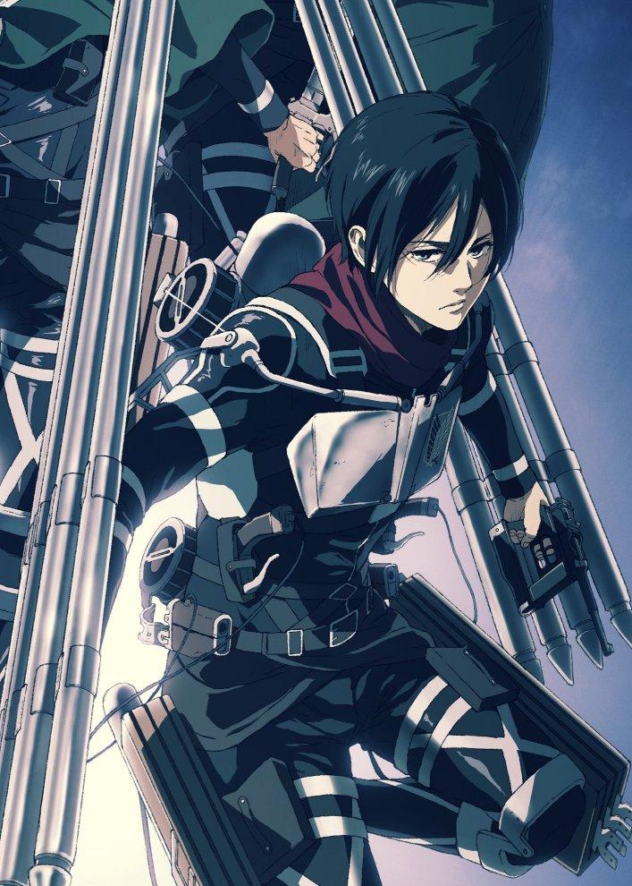 Anime Ã'¢ãƒ‹ãƒ¡ On Twitter You Love To See Mikasa Ackerman Trending Can T Wait For Attack On Titan Season 4