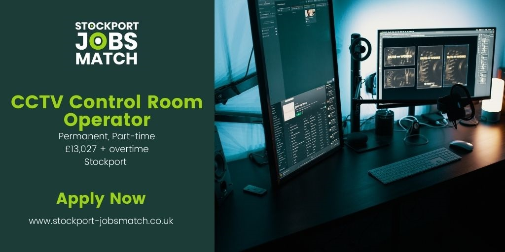 NEW JOB! Totally Local Company are recruiting a CCTV Control Room Operator to join the Security Team in #Stockport. Operators are required to work shifts on a contracted working week of 24 hours – worked on a rota basis – working nights & weekends. https://t.co/sH2qIXuP2S https://t.co/w7ulsSVMw2