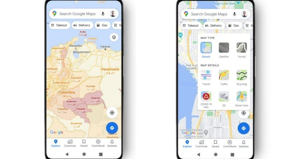 Google Maps now shows COVID-19 hotspots