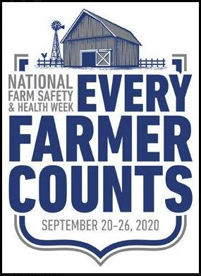 Sept 20-26 is National Farm Safety and Health Week in the U.S. #NFSHW20 is an opportunity to remind all farm families to take the time to review their safety procedures, reduce injury risk, and ensure that proper training is in place for their family and workers. #AgSafeCanada