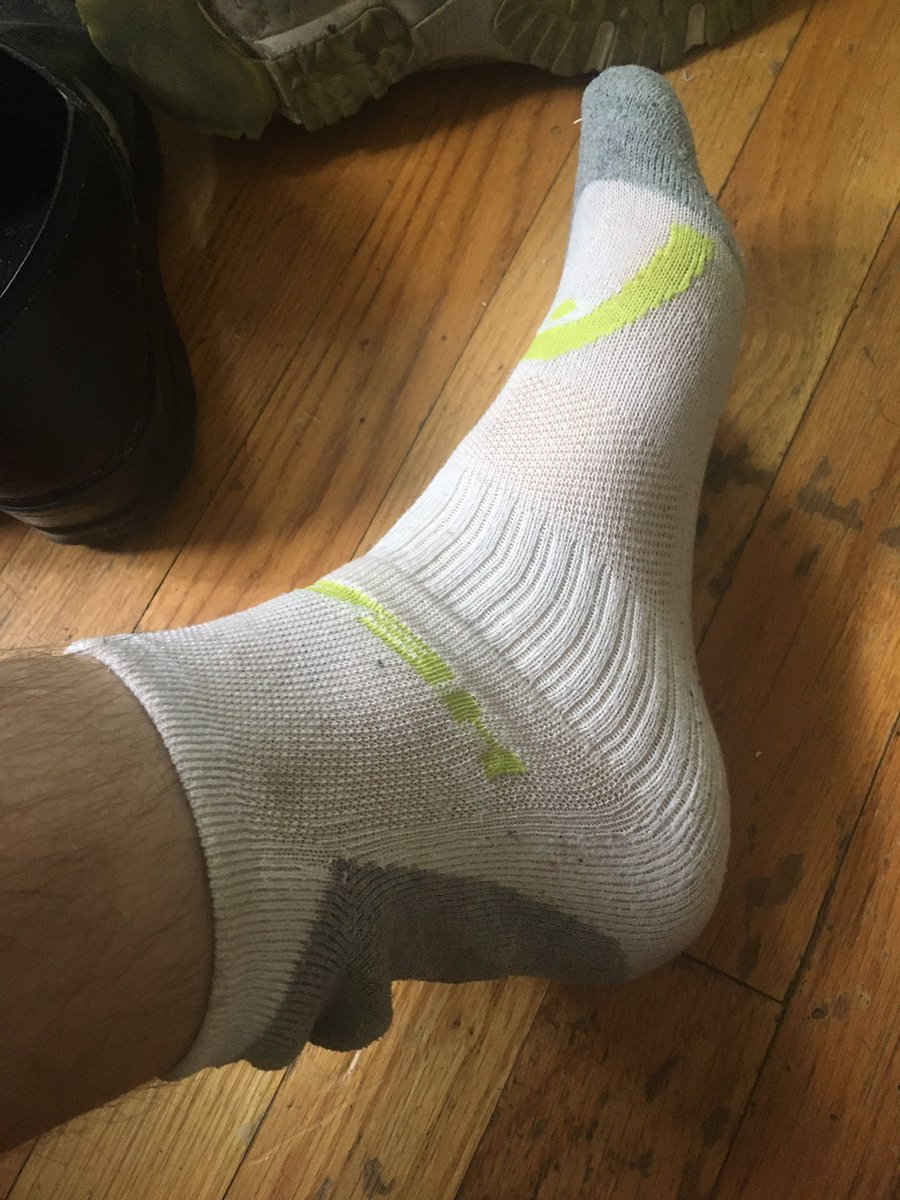 Finally got these ankle socks fitting the way I like.