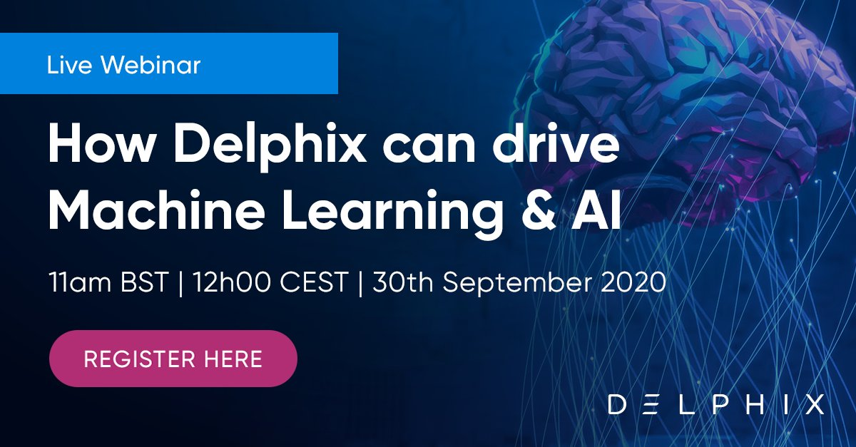 Without secure and efficient data management, forget #AI and #MachineLearning. Join us for a live webinar and learn how to accelerate your AI initiatives with an API-driven #dataops platform.   🗓️ Sept 30 ⏰ 11AM BST 📍 https://t.co/5d0ceAiNTB https://t.co/nXO4lbjeCs