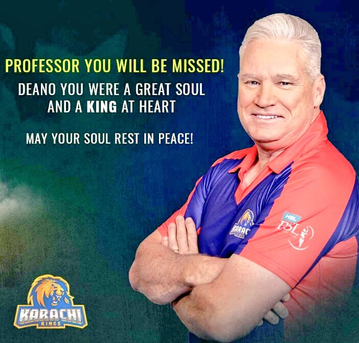 Extremely saddest news deeply sorrow from #Pakistan #DeanJones #RIPDeanJones #RIPDeano huge potential loss of world #Cricket Lovers hope departed soul be transfer at better place great intent personality always motivated funny towards family,friends & fans #AustralianCricketer 💔 https://t.co/5JDhUAul8a