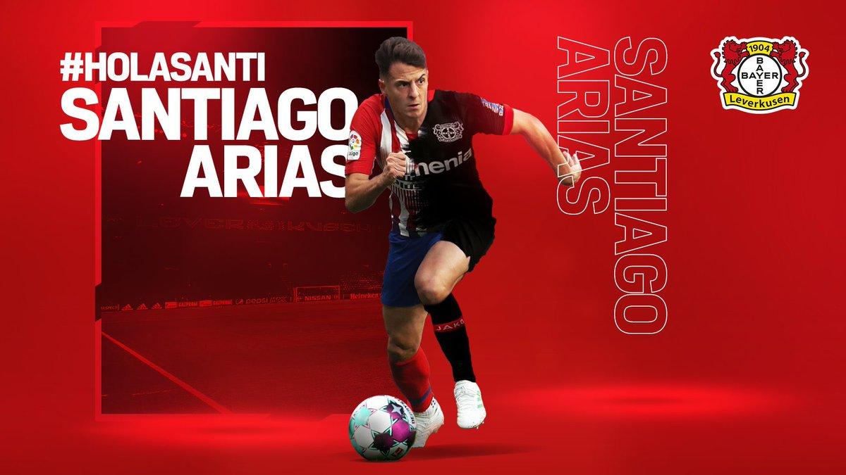 RT @AlargueCaracol: Santiago Arias nuevo jugador del Bayer Leverkusen de Alemania.   #ElAlargue https://t.co/DTKQYXsc7y