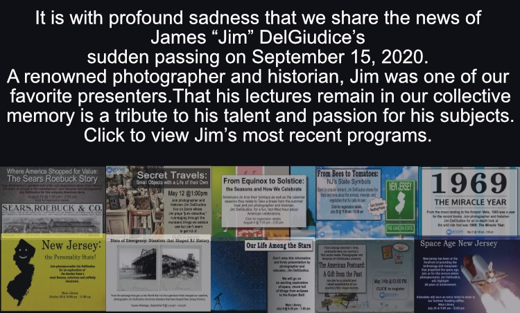 We will miss one of our favorite presenters, Jim DelGiudice, who passed away last week.  You can watch recordings of his last programs with us you YouTube: https://t.co/DEtUGj4nHi  Rest in peace, Jim. https://t.co/2pD6lxybfx