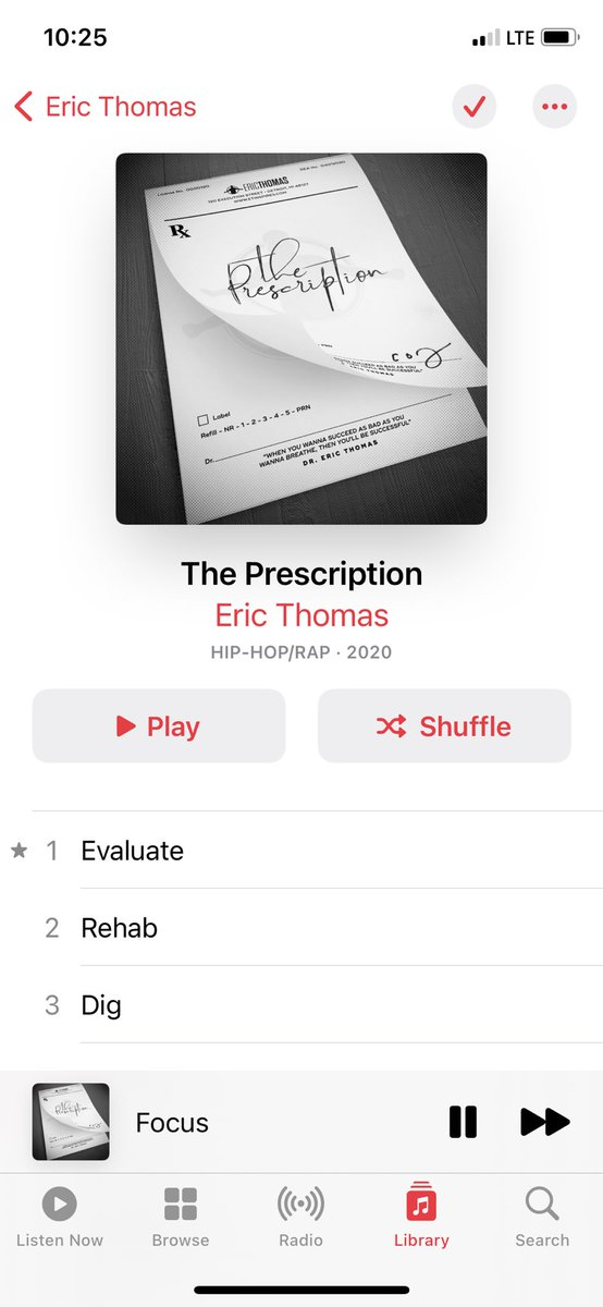 @Ericthomasbtc every morning!!! Listen to this every morning while I do my homework. I promise you helping me get this graduate degree! https://t.co/GJkW2Yol3T