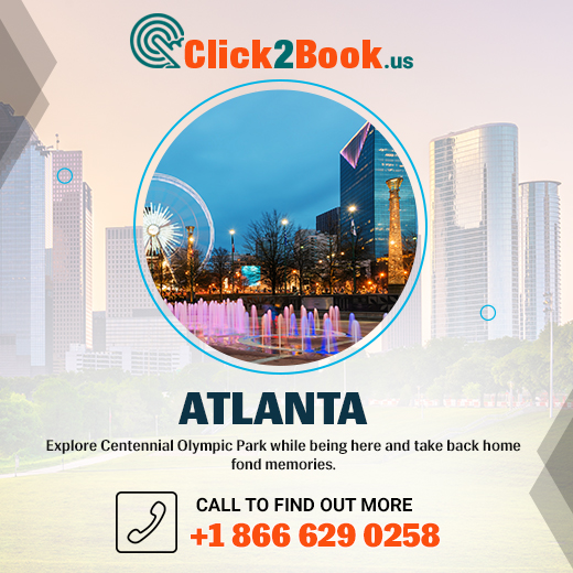 If there is a list of cities enriched with historic significance, #Atlanta has its name on it. Explore Centennial Olympic Park while being here and take back home fond memories. #click2book #USA #unitedstates #travel #CheapFlight https://t.co/kM25b1nsF4 https://t.co/HkjkEp4Kvu