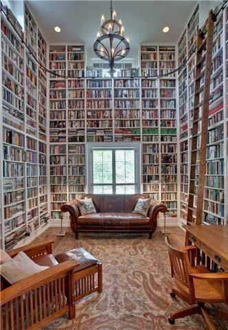 There's the #bookshelf, the #bookcase, the book wall, and then there's the book room.  #photo-Old House Dreams #books #book #library #Read #writing #design https://t.co/344ykhkhuy