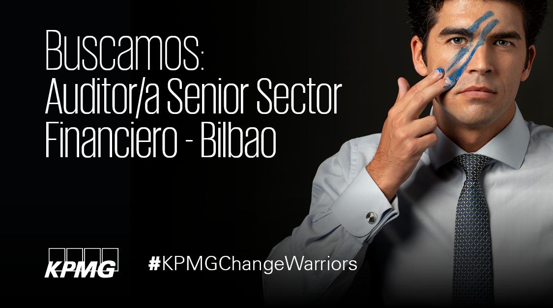¡En KPMG Bilbao seguimos creciendo! ¿Buscas trabajar con las mejores empresas del sector financiero y ser un referente en auditoría? Si tienes entre 3 y 5 años de experiencia en un rol similar revisa nuestra oferta: https://t.co/ecYntpRT1m  #KPMGChangeWarriors #EmpleoES https://t.co/3mjvlVLNFt
