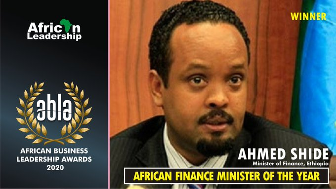Join H.E Ahmed Shide, Minister of Finance – Ethiopia as he receives #ABLA20 African Finance Minister of the Year Award, 29 – 30 September, 2020.  To participate, register here: https://t.co/j3ULGXI02q  #ABLA20 #Africanleadership #Unitedstates   @MoF_Ethiopia https://t.co/hzy1aFbfFc