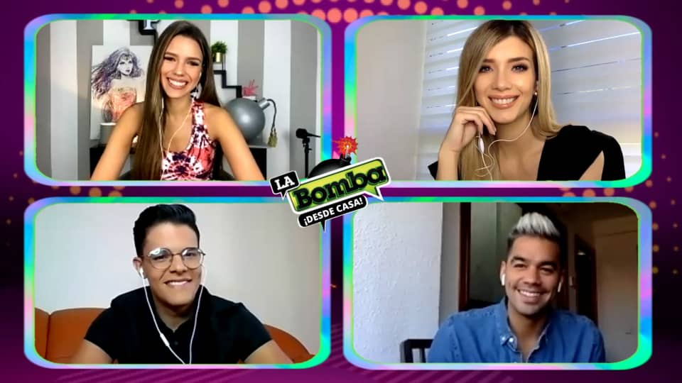 🎙️💣 Ahora la mejor sonrisa acompañado de nuestro invitado especial @DanielHuen 😍 ¿Cuántos aplausos 👏 para el talento venezolano? 💣🎙️#TodosSomosHeroes https://t.co/wi50ATQz1l