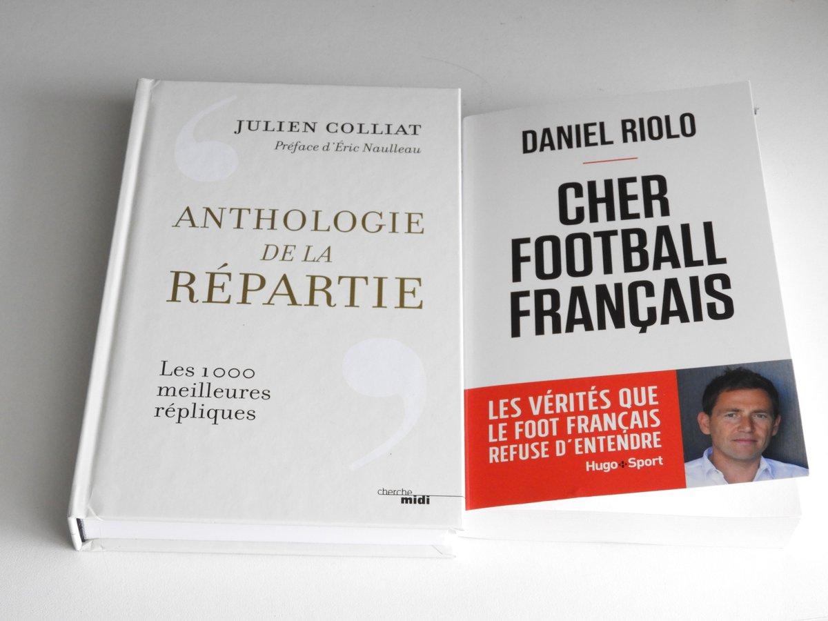 Mes livres reçus pour mon anniversaire @DanielRiolo https://t.co/EfPB0vCpLG