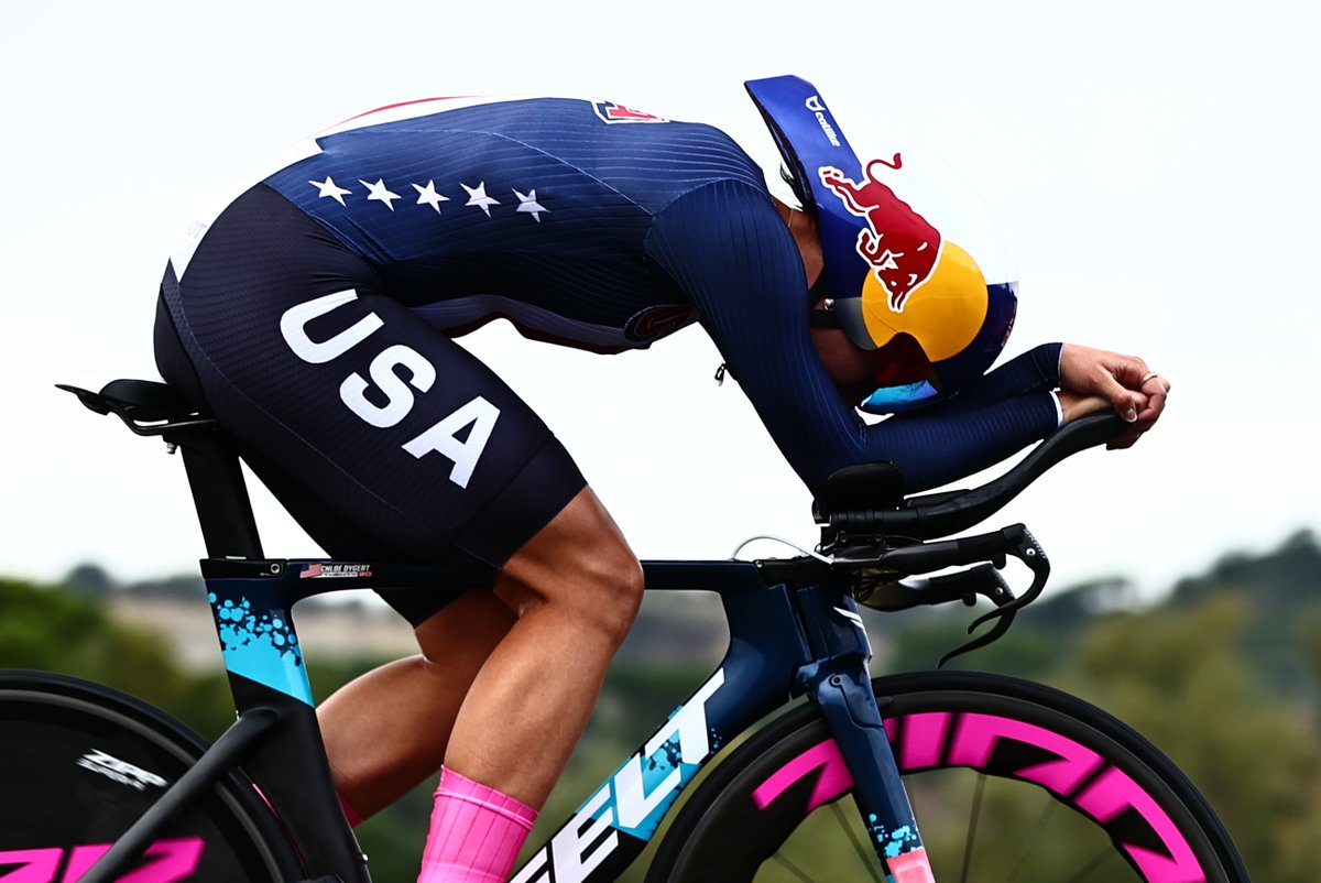We're thinking of you Chloe 🇺🇸✨  Wishing all the best to @chloedygert30 after today's incident during the Women's ITT.  #Imola2020 @usacycling https://t.co/CFH0PGCDik