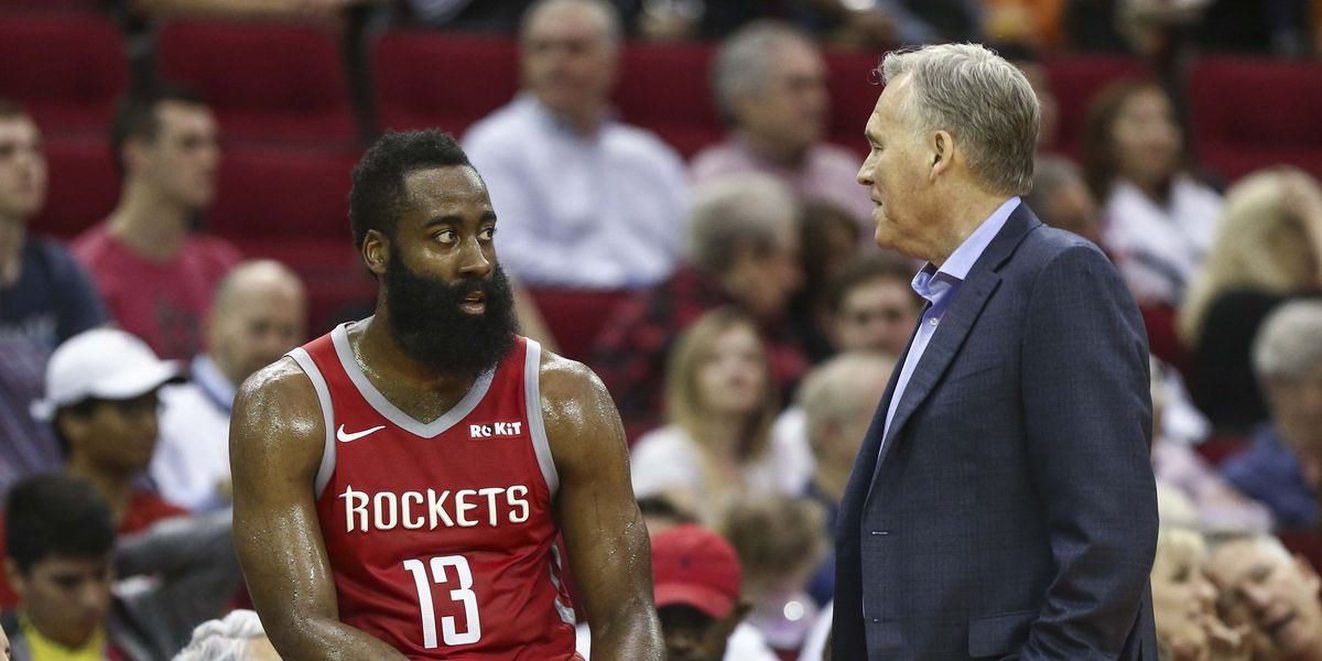 I'm hearing one of the reasons along with coaching that Sixers have a lot of interest in Mike D'Antoni is feeling with some in organization that he could help lure James Harden to Philly  Harden can become a free agent in 2 years and there is possibility of trade https://t.co/gJVecCuhHN