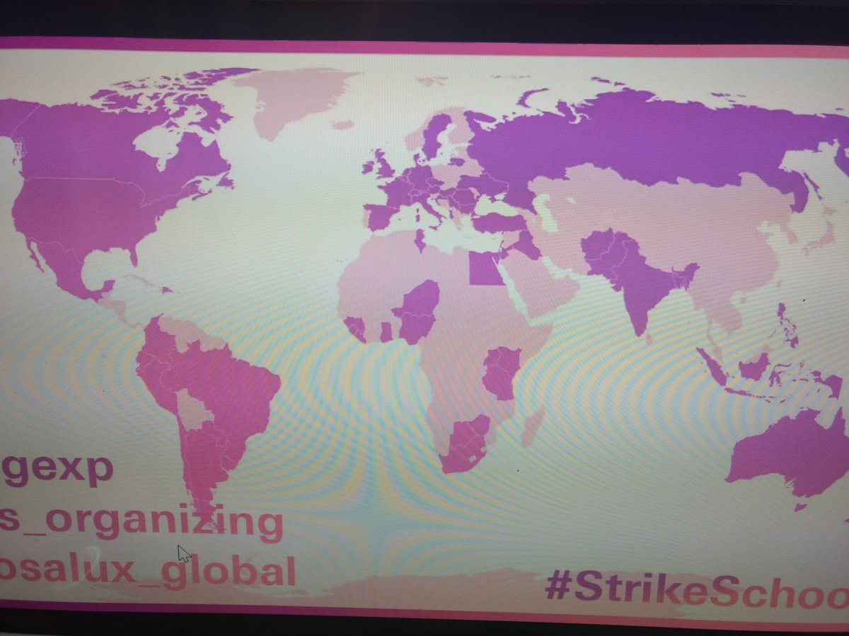 Grooving waiting for #strikeschool to start. And we are off.. https://t.co/zU6FFdoZaG