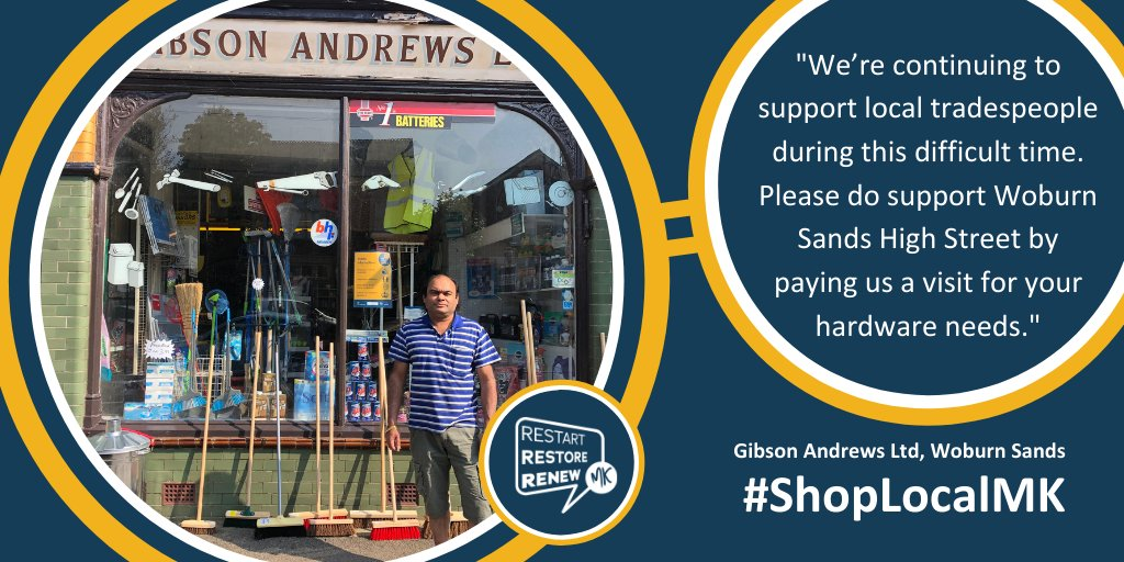 We're giving six people £100 to spend in their high street as part of a campaign to support independent businesses.  To enter the competition, share a picture of yourself shopping safely in MK - you must tag #ShopLocalMK, @MKCouncil and @MKFM.  More here: https://t.co/wjCATx4uBe https://t.co/pNwLcl9Fb8