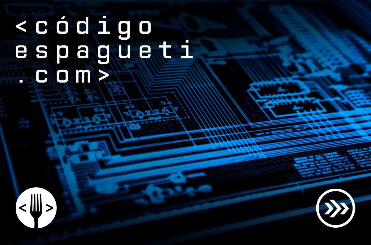 Escucha #CódigoEspagueti, el podcast dedicado a contar las historias perdidas, prohibidas y secretas sobre el mundo digital que nos rodea. @SomosEspagueti. https://t.co/2hVJeJoU6H