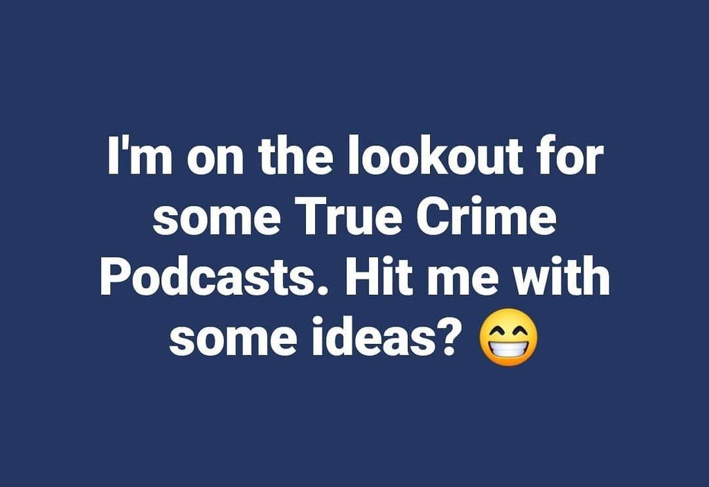 HELP!!   #truecrime #podcasts #podcast #murder #coldcase #missingperson #killers #serialkiller #crime https://t.co/cUYXtT5e42 https://t.co/6GzjDi7EwM